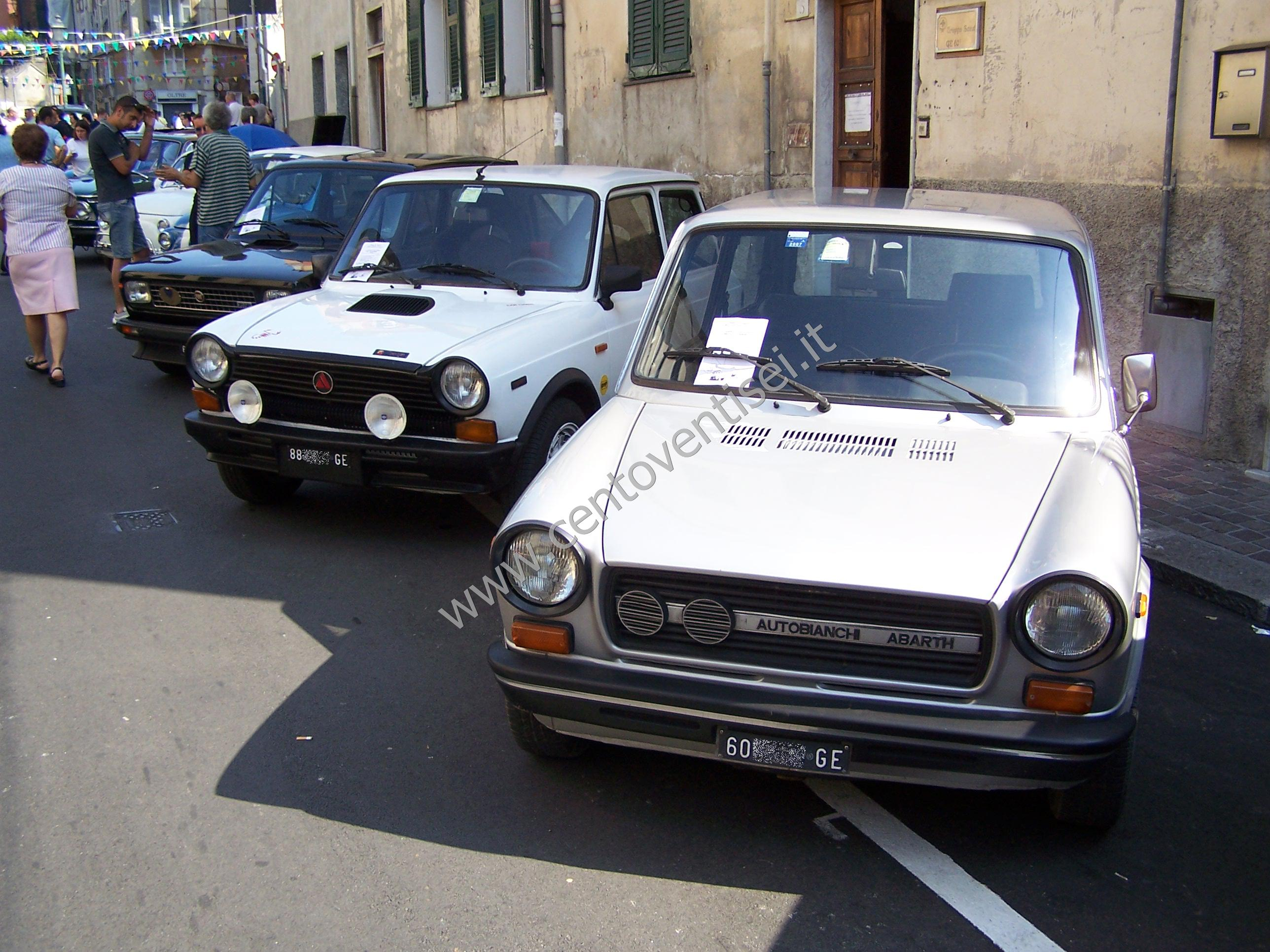 IT: Due belle Autobianchi A112